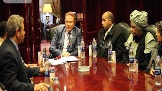 بالفيديو : رئيس منظمة الشعوب العربية والافريقية فى ضيافة أ.ش.أ