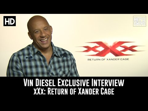 Vin Diesel Exclusive Interview - xXx: Return of Xander Cage