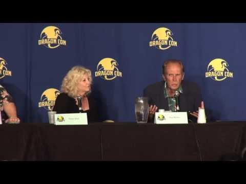 RoboCop panel Dragoncon August 31, 2014 Peter Weller,Nancy Allen