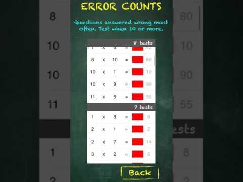 TimesX Times Tables Multiplication Quiz v1.6 iOS