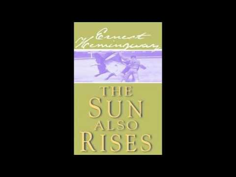 English Audio Book   The Sun Also Rises by Ernest Hemingway - Natural voice