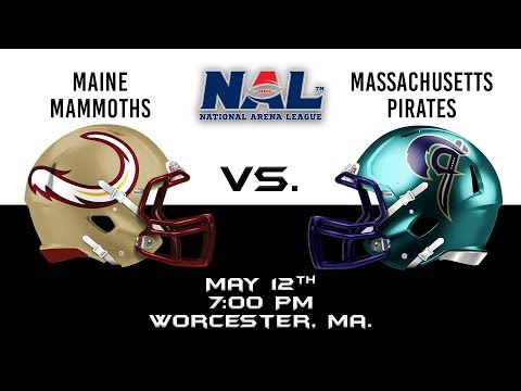 Maine Mammoths vs Massachusetts Pirates