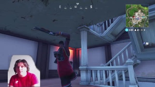 Nouvelle peau Jumpshot - Slam dunk pickaxe - Hang time Glider Fortnite Battle Royale gameplay