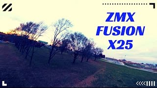 zmx fusion x25 2206 2300 motors   raw test flight the power   raw drone freestyle