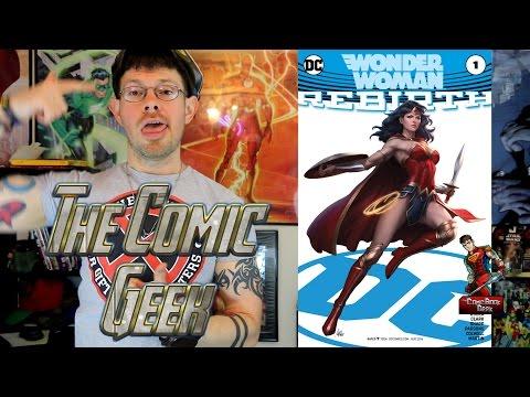 Wonder Woman Rebirth #1-  DC Comic Book Review