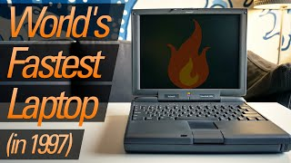 PowerBook 3400c -- When the World's Fastest Laptop Was a Mac!