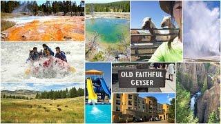 Yellowstone Park Vlog!