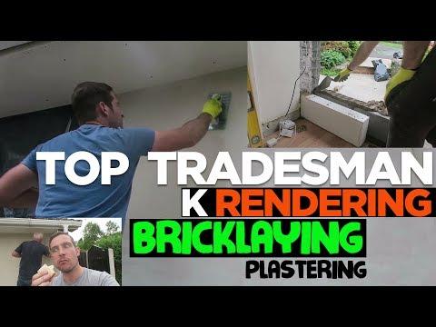 multi skilled tradesman, bricklaying, k rendering, plastering, electrition