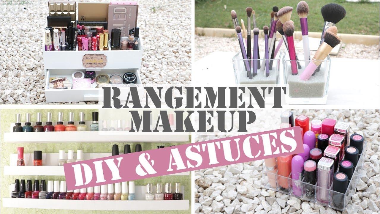 Diy Et Astuces Rangement Maquillage Sylife