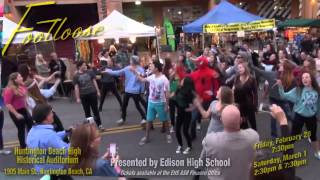 EHS Footloose Flashmob at PCH & Main St. Huntington Beach, CA
