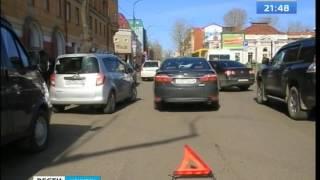 """Дорожный конфликт закончился стрельбой в центре Иркутска, """"Вести-Иркутск"""""""