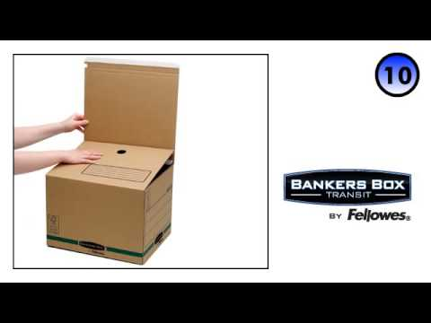 Bankers Box® Transit Secure Ship & Store Box