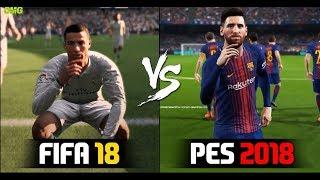 FIFA 18 vs PES 2018  Oficia E3 Trailer Gameplay