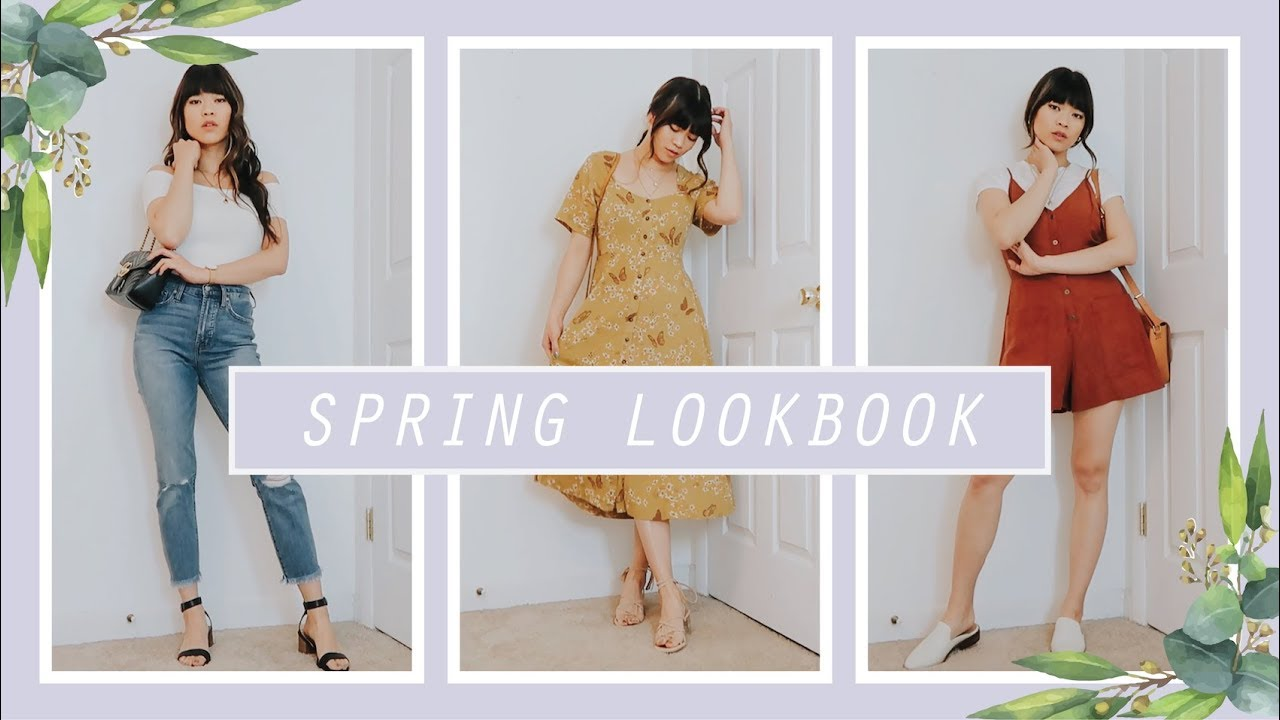 SPRING LOOKBOOK & OUTFIT IDEAS! 9