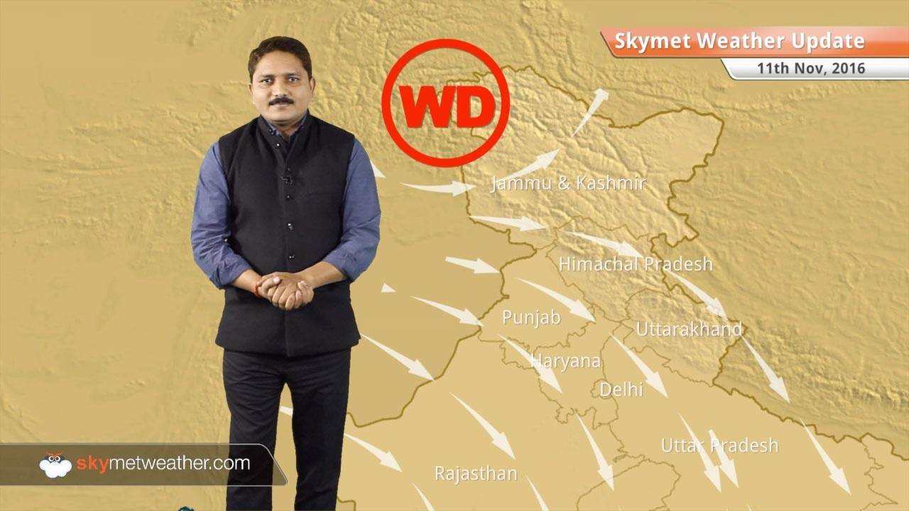 Weather Forecast for Nov 11: Rain and snow in Jammu and Kashmir, North  Punjab