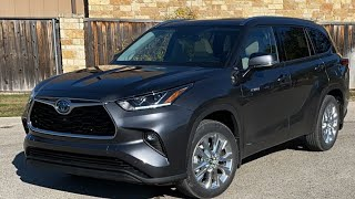 Is the 2020 Toyota Highlander Hybrid the ULTIMATE 3-row SUV?
