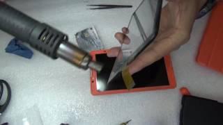 Замена тачскрина на планшете BQ 7062G.