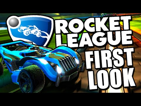 Rocket League Gameplay - First Impressions - FLYING CARS! (Rocket League Gameplay)
