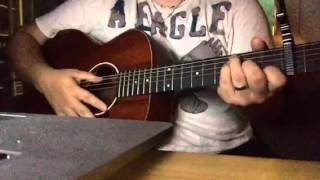 "How to play ""Lover Come Back"" by City and Colour (Tutorial) Acoustic"
