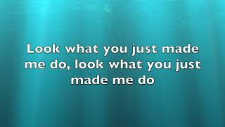 My cover of Look What You Made Me Do by Taylor Swift (with lyrics)