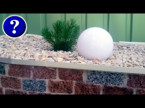 Ограждения для клумб своими руками Натуральный Камень Светильники #КАК?