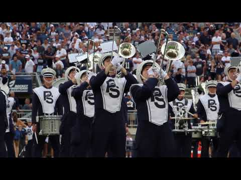 Penn State Blue Band Halftime Show: 090118