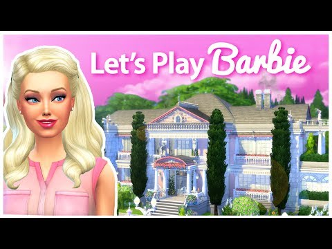 MOVING TO THE NEW MANSION!!! | Let's Play The Sims 4 Barbie | S03E30