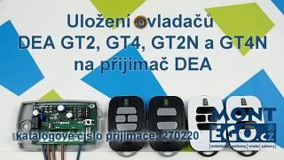 Jak naprogramovat dálkový ovladač DEA do přijímače? | MontEgo.cz