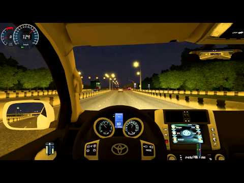 City Car Driving 1.3.3 Toyota Land Cruiser Prado 150 HD G27
