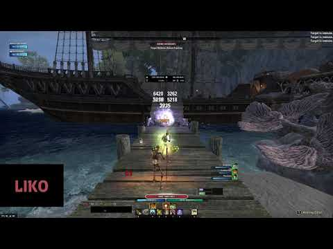 ESO — Bow/Bow Stamina Sorcerer Rotation — The Strongest Ever PVE DD Build? — Wrathstone