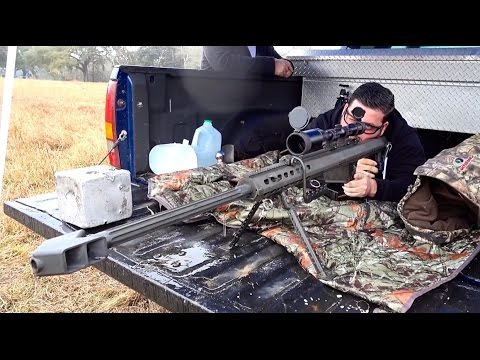 MONSTER BARRETT 50 CAL