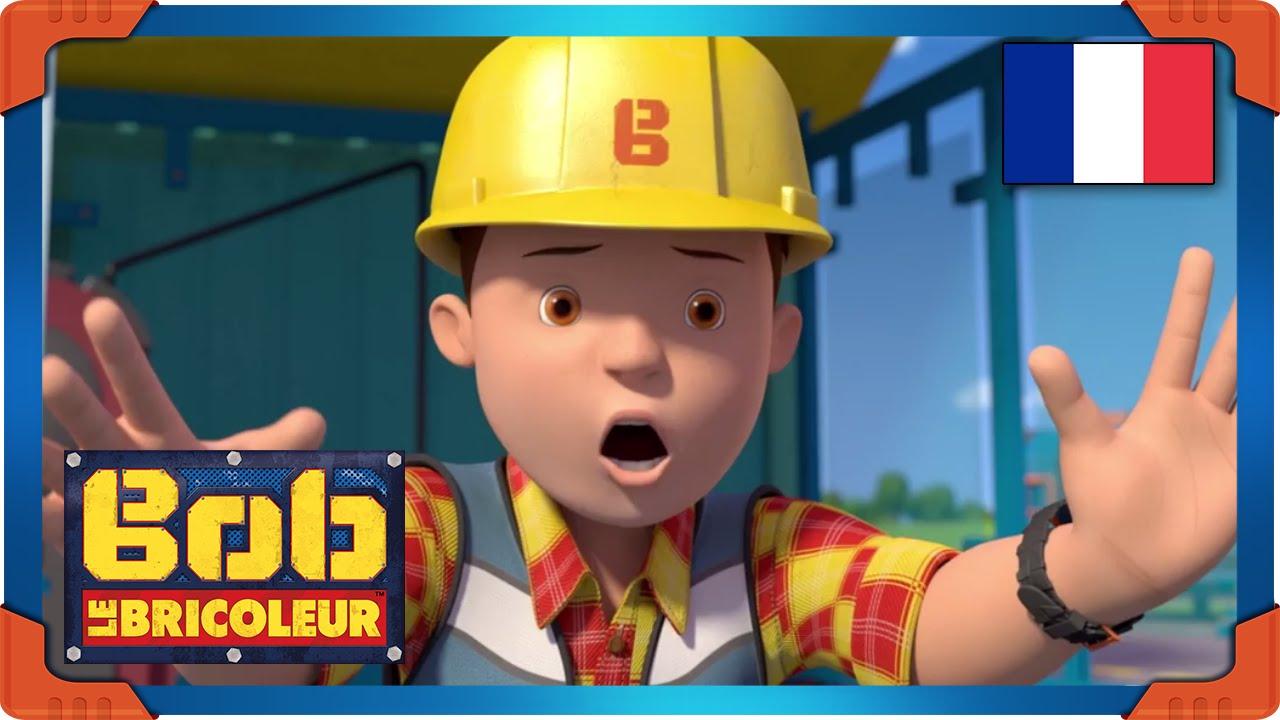 Coloriage Le Camion De Bob Le Bricoleur.Bob Le Bricoleur En Francais Apprends Avec Leo Et Viens Rencontrer