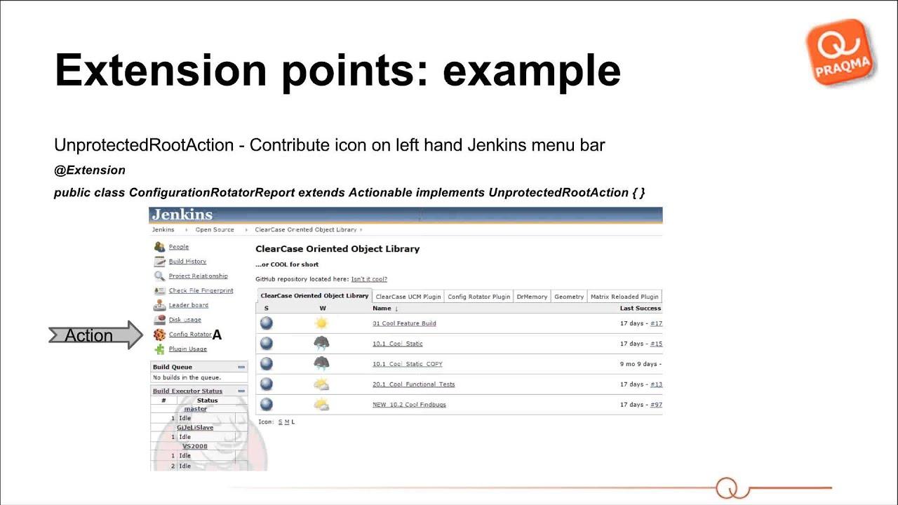 Custom Jenkins Plugin Development Webcast