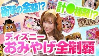 【総額いくら!?何種類ある!?】東京ディズニーリゾートにあるお菓子のおみやげ全制覇