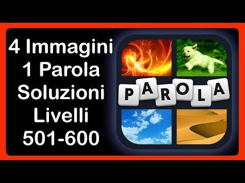 4 Immagini 1 Parola - Livelli 501 - 600 [HD] (iphone, Android, IOS)
