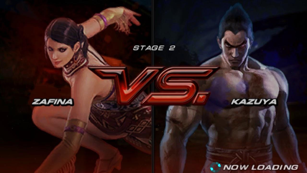 Tekken 6 Zafina Story Playthrough Youtube