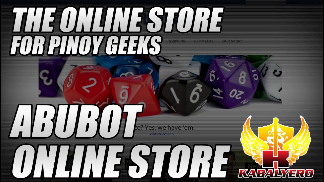 Abubot Online Store, The Online Store For Pinoy Geeks