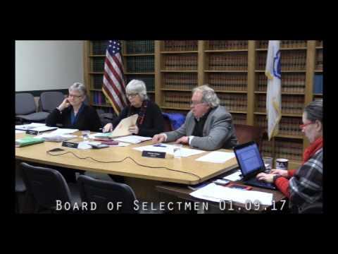 Board of Selectmen 01.09.17