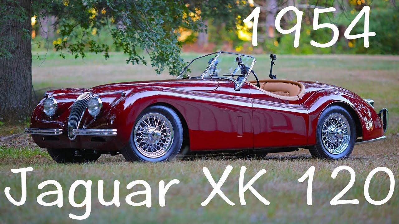 High Quality 1954 Jaguar XK120 Roadster