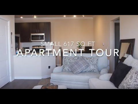 SMALL APARTMENT TOUR! | 600 SQ FT