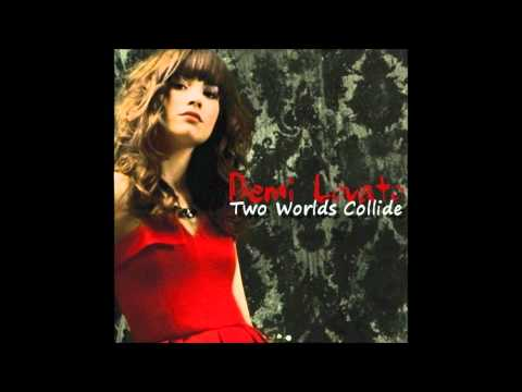 Demi Lovato - Two Worlds Collide Karaoke / Instrumental With Backing Vocals And Lyrics