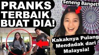 PRANKS KE PACAR! KAKAKNYA SAMPE PULANG DARI MALAYSIA! PRANKS TERMAHAL INI MAH!