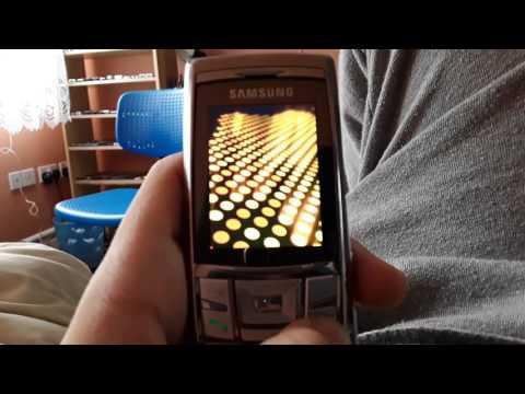 2006 Samsung SGH-D840 Startup and Shutdown