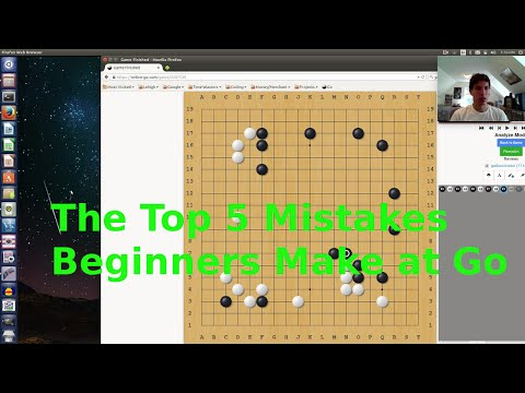 In Sente: Go Lessons!  Top 5 Mistakes Beginner Go Players Make!