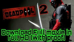 How To Download DEADPOOL 2 in Hindi HD Torrent!