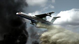 إخماد حرائق إسرائيل بمساعدة طائرات روسية