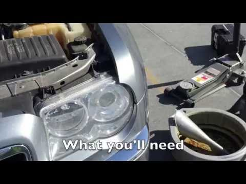 How to replace the water pump in a 300C Hemi 2005   Doovi
