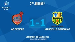 AS Beziers vs Marseille Consolat full match