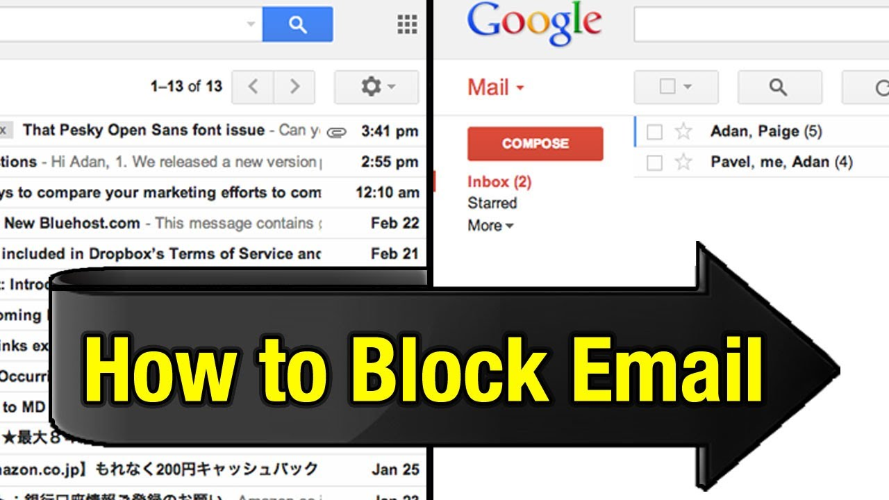 how to delete people on gmail