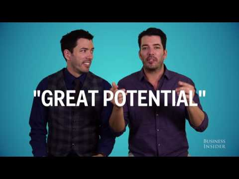 The Property Brothers decode those tricky real estate code words